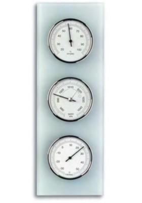 Station météo (thermomètre, hygromètre et baromètre)