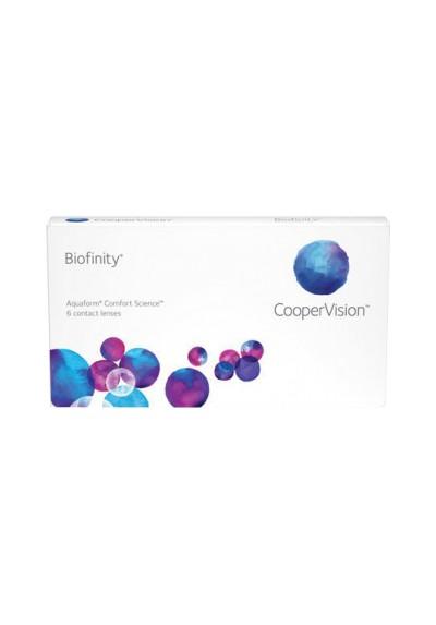 Biofinity (6 lentilles) - Cooper Vision