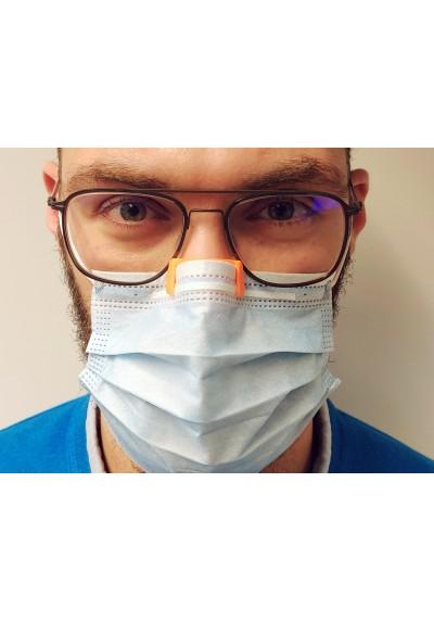 STEFTI système antibuée pour proteurs de lunettes à fixer aux masques
