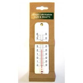 Thermomètre émail extérieur intérieur 16 cm (3416)